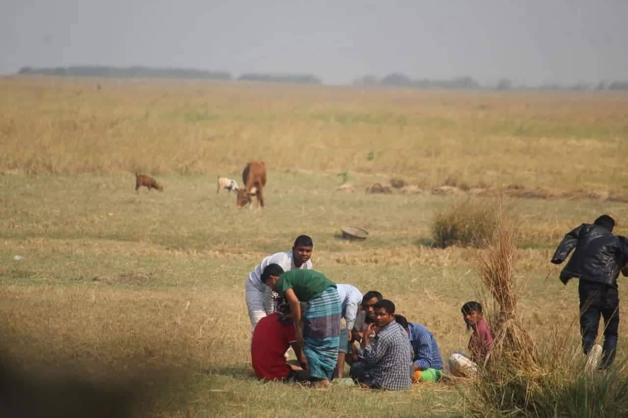 ভোলা দৌলতখানে রমরমা জুয়ার আসর